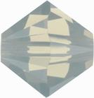 Swarovski Crystal Beads 5mm bicone 5328 light grey opal opalescent