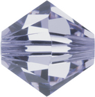 Swarovski Crystal Beads 5mm bicone 5328 provence lavender transparent