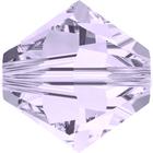 Swarovski Crystal Beads 6mm bicone 5328 smoky mauve transparent