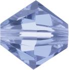 Swarovski Crystal Beads 8mm bicone 5328 light sapphire (pale blue) transparent