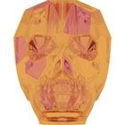 Swarovski Crystal Beads 13mm skull (5750) crystal astral pink transparent with finish