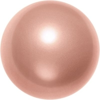 Image Swarovski Pearl Beads 2mm round pearl (5810) rose peach pearlescent