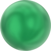 Image Swarovski Pearl Beads 4mm round pearl (5810) eden green pearlescent
