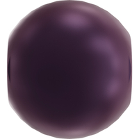 Image Swarovski Pearl Beads 4mm round pearl (5810) elderberry pearlescent