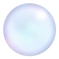 Image Swarovski Pearl Beads 6mm round pearl (5810) iridescent dreamy blue pearlescent