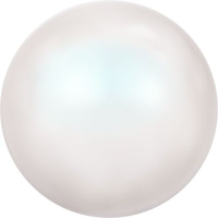 Image Swarovski Pearl Beads 6mm round pearl (5810) white pearlescent pearlescent