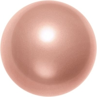Swarovski Pearl Beads 6mm round pearl (5810) rose peach pearlescent