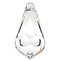 Swarovski Pendants 11 x 5mm teardrop pendant (6000) crystal (clear)