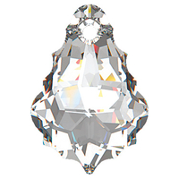 Swarovski Pendants 16 x 11mm baroque pendant (6090) crystal (clear)