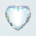 28mm heart, crystal AB, out of production