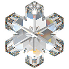 Swarovski Pendants 20mm snowflake (6704) crystal (clear)