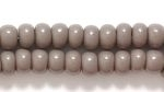 Image Seed Beads Czech pony size 6 grey opaque