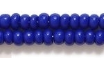Seed Beads Czech pony size 6 royal blue opaque