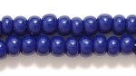 Seed Beads Czech pony size 6 navy blue opaque