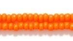 Image Czech Seed size 8 orange opaque