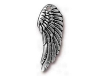 Metal Charms wing antique silver 28 x 11mm