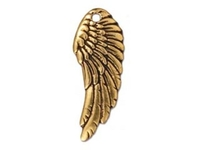 Metal Charms wing antique gold 28 x 11mm