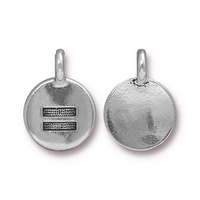 Metal Charms Equality antique silver 11.6 x 16.6mm
