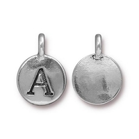 Metal Charms A antique silver 11.6 x 16.6mm