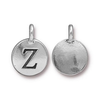 Metal Charms Z antique silver 11.6 x 16.6mm