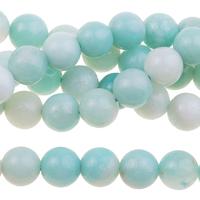 Image Amazonite 6mm round light blue green