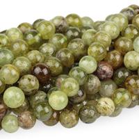 Image Green Garnet 4mm round green
