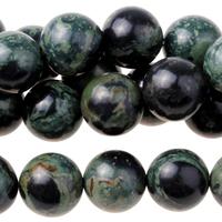 Image Kambaba Jasper 10mm round dark green