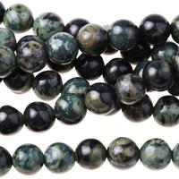 Image Kambaba Jasper 6mm round dark green