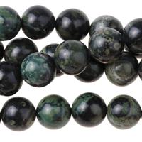 Image Kambaba Jasper 8mm round dark green