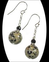 Dalmatian Jasper Earrings