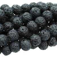 Image Lava 10mm round black