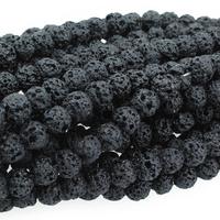 Image Lava 6mm round black