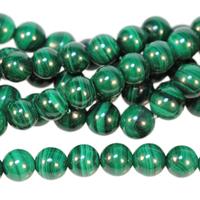 Image Malachite 6mm round green