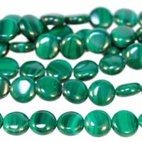 Image Malachite 8mm coin green