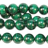 Image Malachite 8mm round green