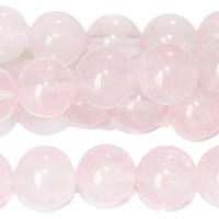 Image Rose Quartz 10mm round pink