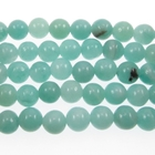 Amazonite 6mm round light blue green