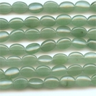 Aventurine 10 x 14mm oval green