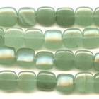 Aventurine 12mm square green