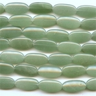 Aventurine 15 x 30mm oval green