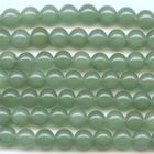Aventurine 6mm round green