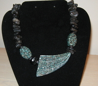 Black Volcano Necklace