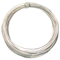 German Craft Wire 22 gauge  round silver