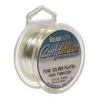 Craft Wire 18 gauge round silver