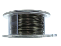 Craft Wire 24 gauge round gunmetal (hematite)