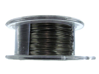 Craft Wire 26 gauge round gunmetal (hematite)
