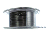Image Craft Wire 28 gauge round gunmetal (hematite)