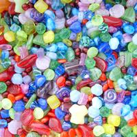 Image Multicolor Czech Bead Mix