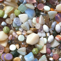 neutral mix Czech Bead Mixes