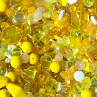 Yellow Czech Bead Mix